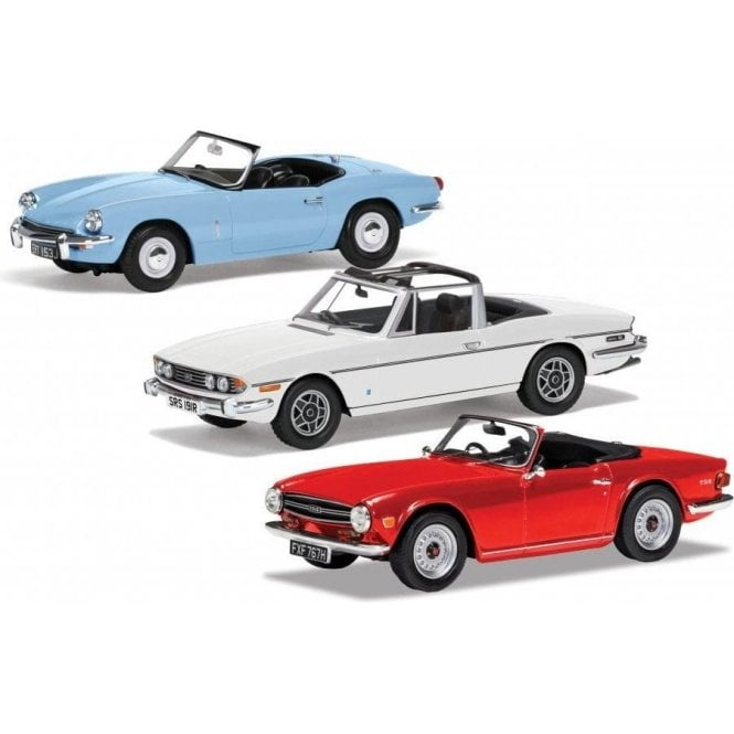 Corgi Vanguards 1:43 Triumph Topless Collection Model Cars