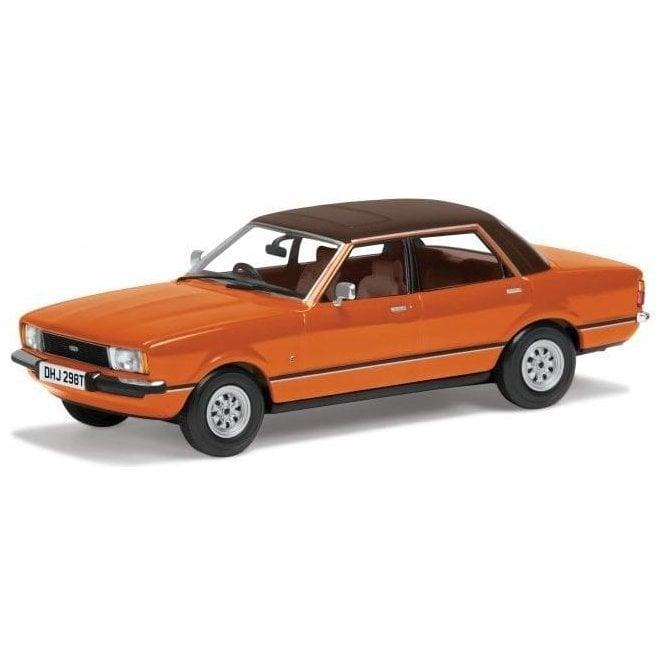Corgi Vanguards 1:43 Ford Cortina Mk4 Orange Model Car