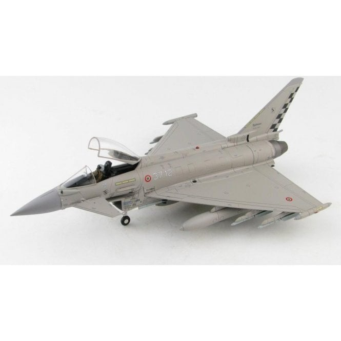 "Hobby Master 1:72 Eurofighter Typhoon EF2000 37-12, 37° Stormo, 18° Gruppo, Italian Air Force,  ""Exercise Cobra Warrior"",  2019"
