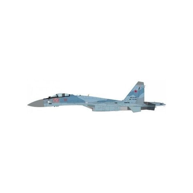 "Hobby Master 1:72 Su-35 Flanker E Red 59, Russian Air Force, ""Syrian War"""