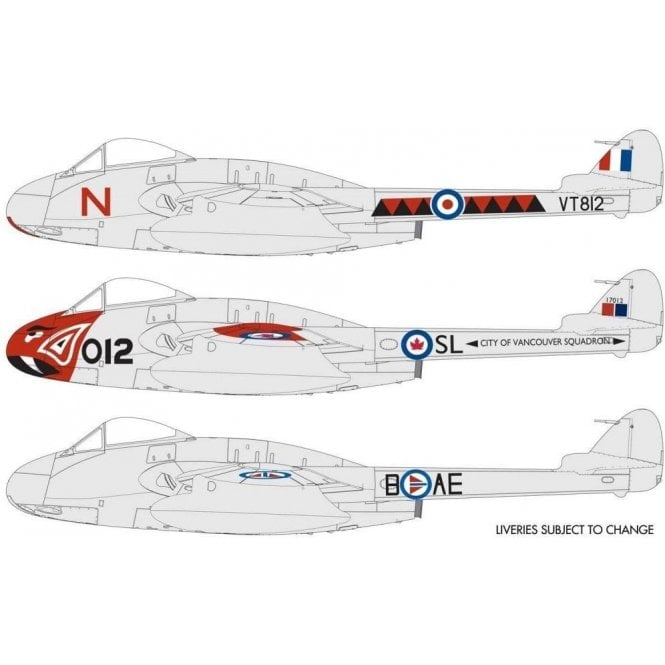Airfix 1:48 de Havilland Vampire F.3 Model Kit