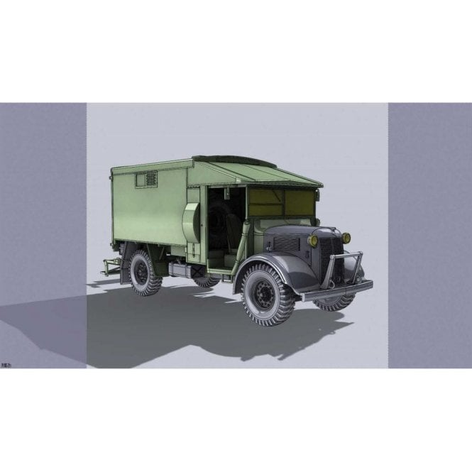 Airfix 1:35 Austin K2/Y Ambulance Model Military Kit