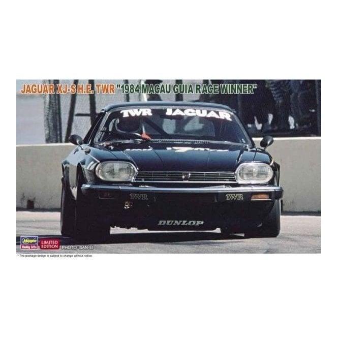 Hasegawa 1:24 Jaguar Xj-S H.E. Twr 1984 Macau Guia Race Winner Car Model Kit