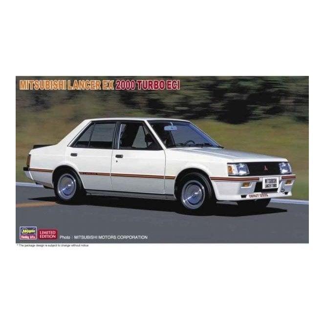 Hasegawa 1:24 Mitsubishi Lancer Ex 2000 Turbo ECI Car Model Kit