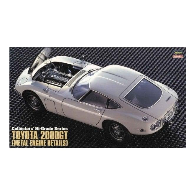 Hasegawa 1:24 Toyota 2000Gt with Metal Engine Details Car Model Kit