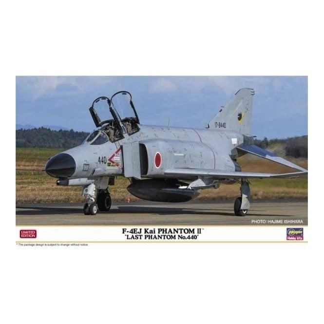 Hasegawa 1:72 F-4Ej Kai Phantom Ii Last Phantom No.440 Aircraft Model Kit