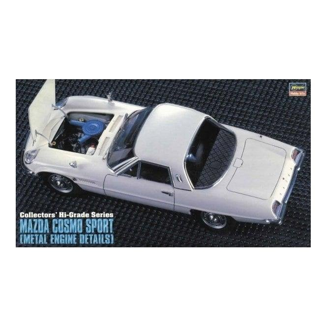 Hasegawa 1:24 Mazda Cosmo Sport with Metal Engine Details Car Model Kit