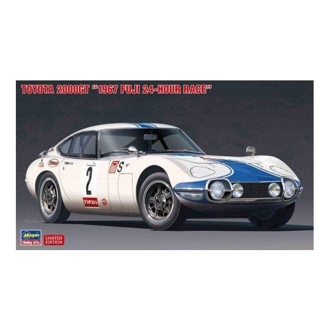 Hasegawa 1:24 Toyota 2000GT 1967 Fuji 24-Hour Race Car Model Kit