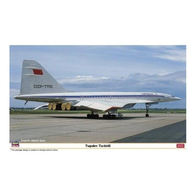 Hasegawa 1:144 Tupolev TU-144S Aircraft Model Kit