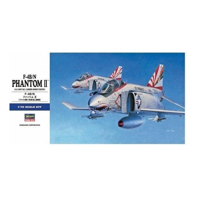 Hasegawa 1:72 F-4B/N Phantom II Aircraft Model Kit