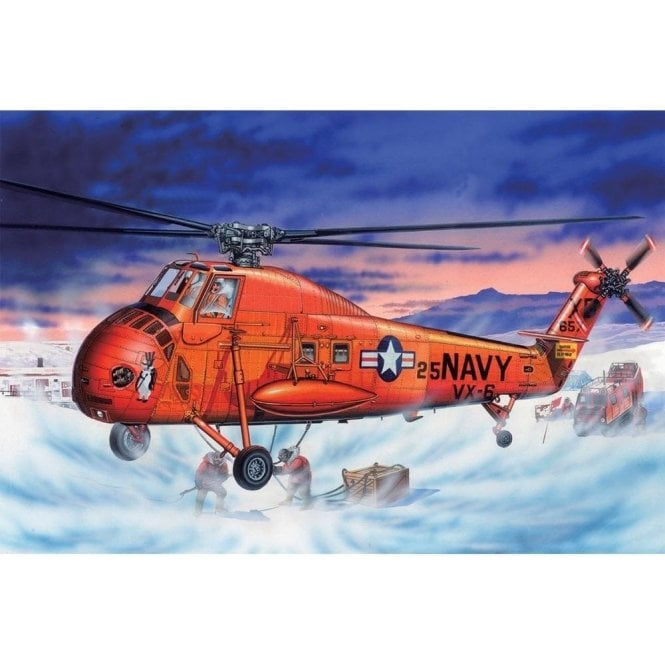 Trumpeter 1:48 02886 UH-34D Seahorse Aircraft Model Kit