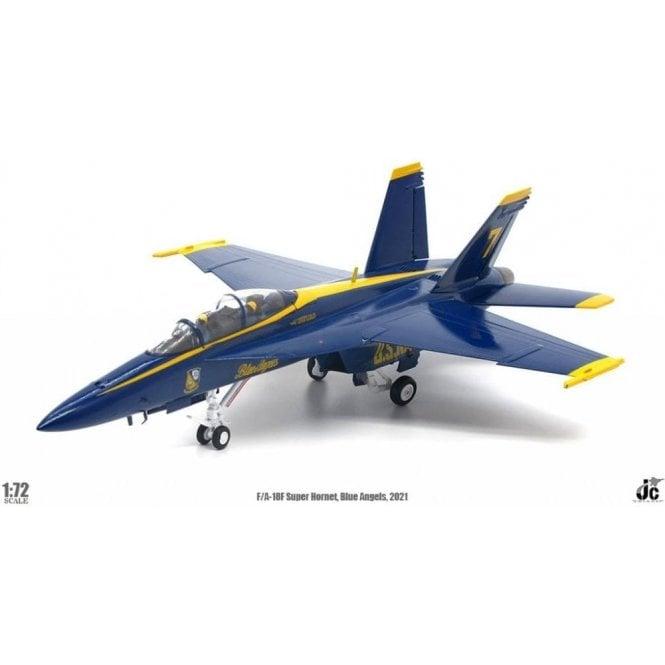 "JC Wings 1:72 F/A-18E Super Hornet US Navy ""Blue Angels"" No. 7, 2021"