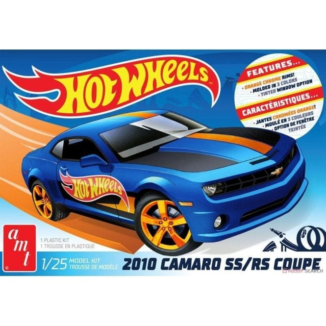 AMT 1:25 2010 Chevy Camaro Hot Wheels Car Model Kit