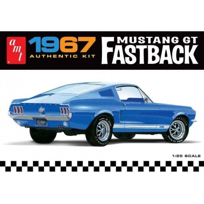 AMT 1:25 1967 Ford Mustang GT Fastback Car Model Kit