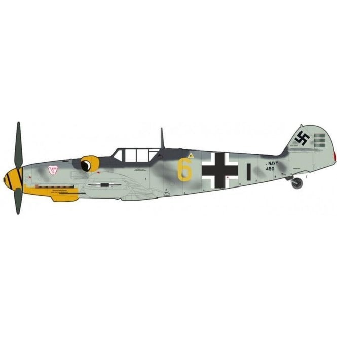 "Hobby Master 1:48 BF 109G-6 ""Yellow 6"", Ofw. Alfred Surau, 9./JG 3, Germany, Sept 1943"