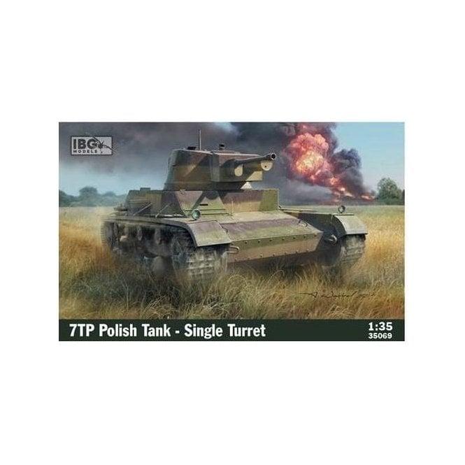 IBG 1:35 7TP Polish Tank - Single Turret Military Model Kit
