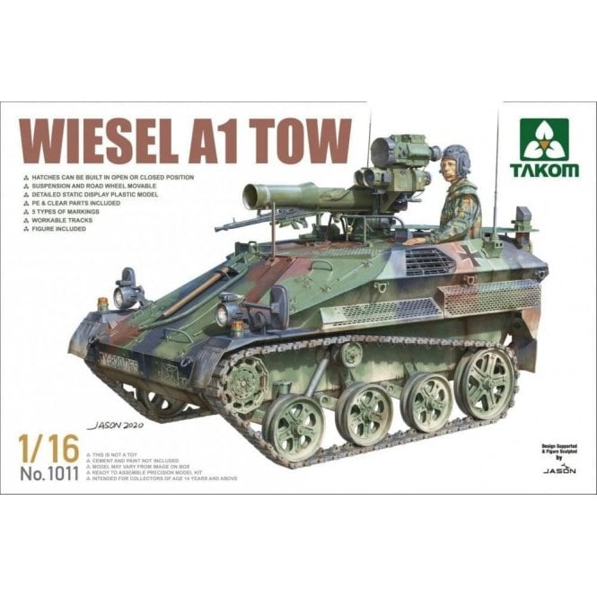 Takom 1:16 Wiesel A1 TOW Model Military Kit