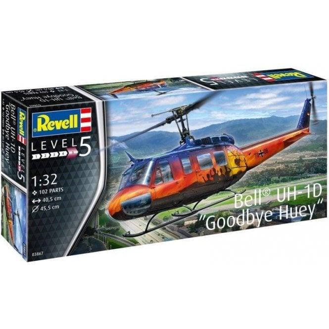 "Revell 1:32 Bell UH-1D ""Goodbye Huey"" Aircraft Model Kit"