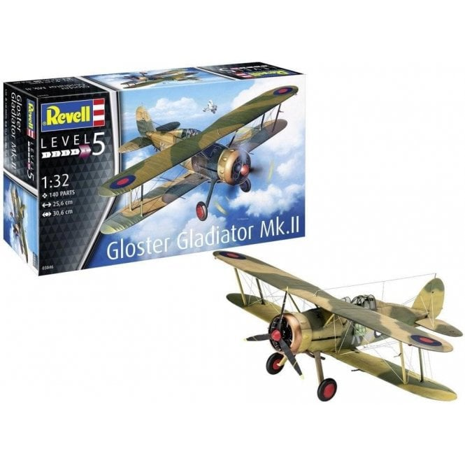 Revell 1:32 Gloster Gladiator Mk. II Aircraft Model Kit