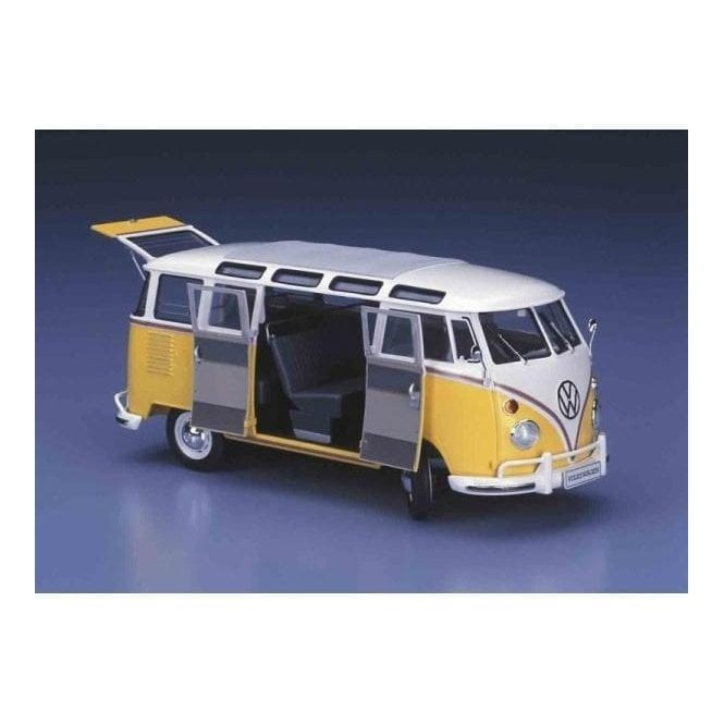 Hasegawa 1:24 VW Type 2 Mico Bus - Full Interior Car Model Kit