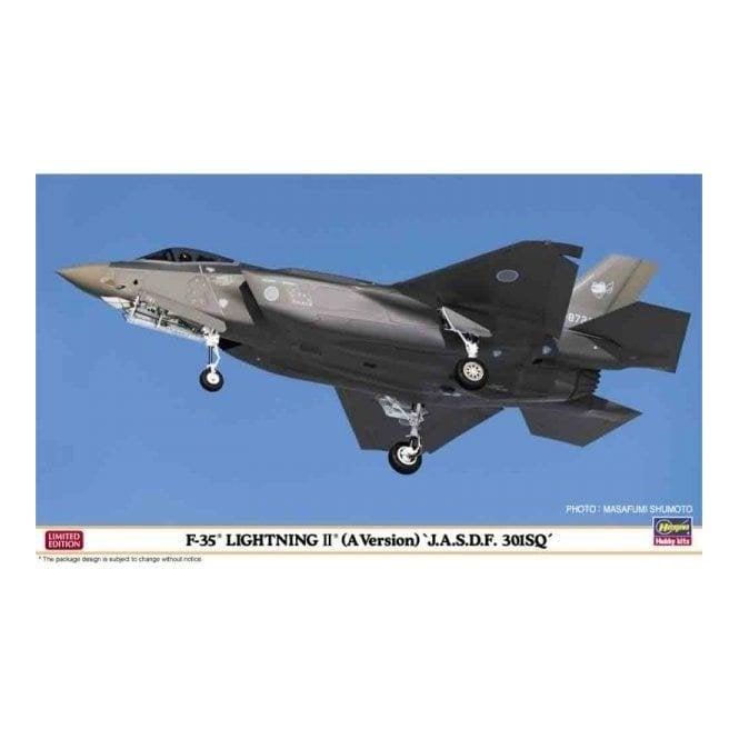 Hasegawa 1:72 F-35 Lightning II (A Version) J.A.S.D.F. 301SQ Aircraft Model Kit