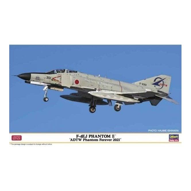Hasegawa 1:72 F-4EJ Phantom II ADTW Phantom Forever 2021 Aircraft Model Kit