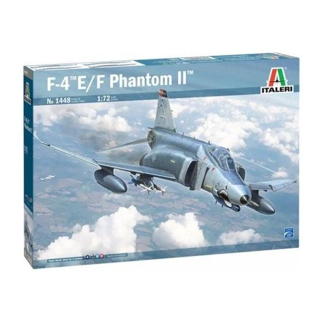 Italeri 1:72 F-4E/F Phantom II Aircraft Model Kit