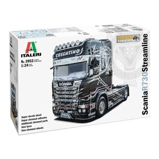 Italeri 1:24 Scania R730 Streamline - Show Trucks Truck Model Kit