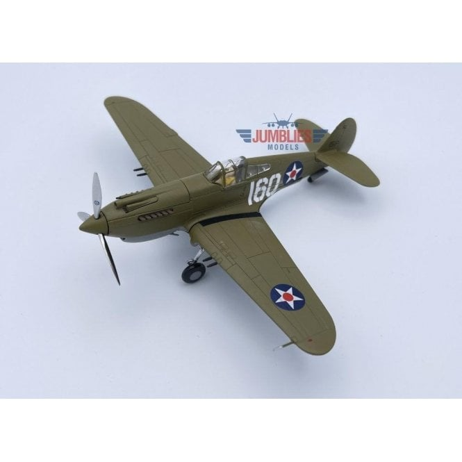 Corgi 1:72 Curtiss P-40B Warhawk, 160/15P, 2nd Lt. George Welch, 47th PS, 15th PG, USAAF, Wheeler Field, 7th December 1941, Pearl Harbor Defender