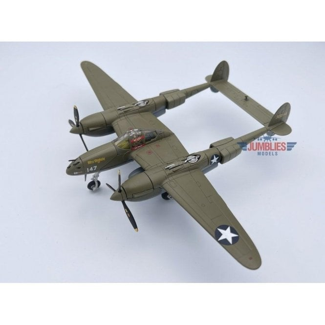 Corgi 1:72 Lockheed P-38G Lightning 43-2264 'Miss Virginia', 339th FS, 347th FG, 'Operation Vengeance', 1943