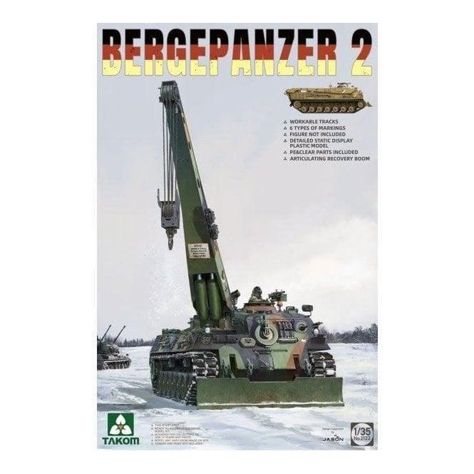 Takom 1:35 Bergepanzer 2 Model Military Kit