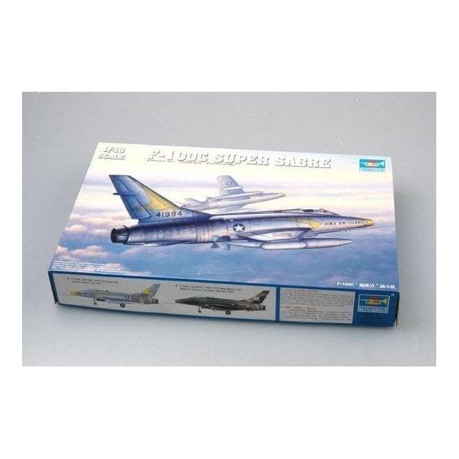 Trumpeter 1:48 02838 F-100C Super Sabre Aircraft Model Kit