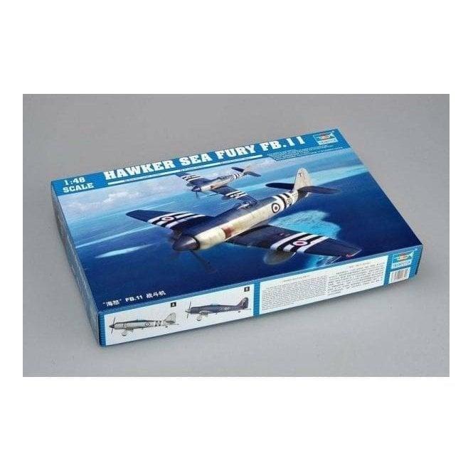 Trumpeter 1:48 02844 Hawker Sea Fury FB.11 Aircraft Model Kit