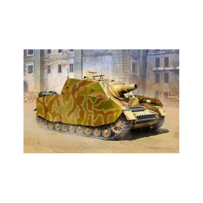 1:35 German Sturmpanzer IV Brummbär Mid Model Military Kit