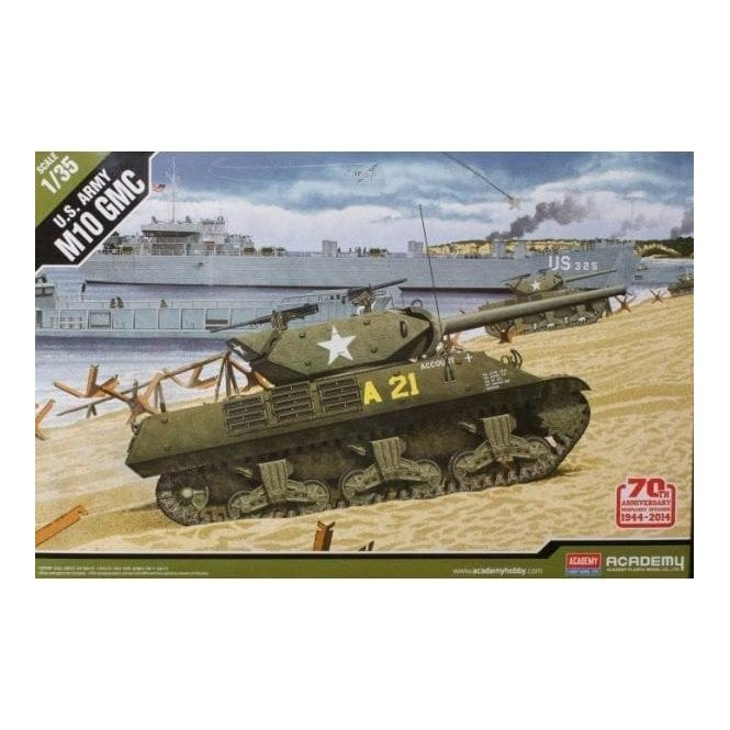 Academy 1:35 Normandy 70th Anniversary M10 GMC Model Military Kit