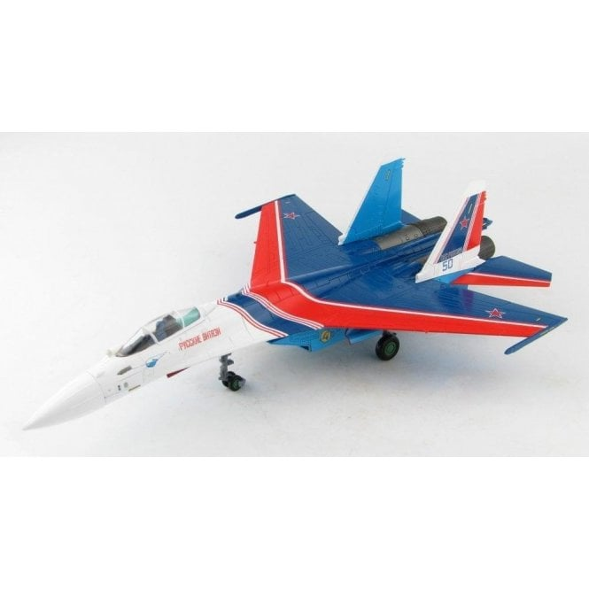 """Hobby Master 1:72 Su-35S Flanker E """"Russian Knights"""" Blue 50, Russian Air and Space Force (VKS), Nov. 2019"""