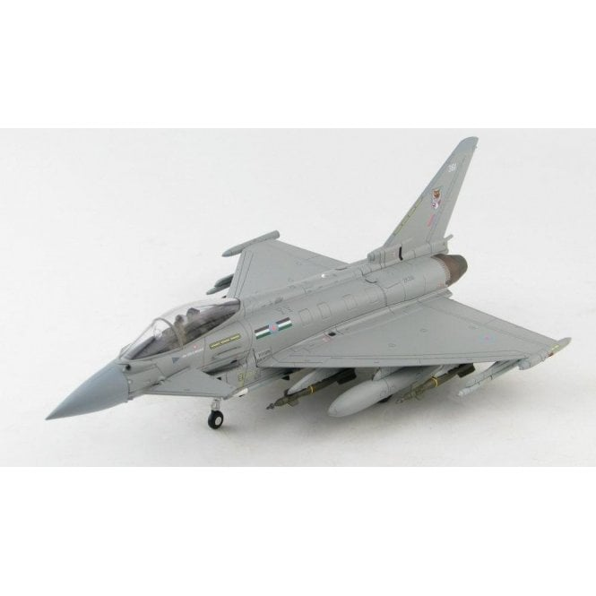 Hobby Master 1:72 Eurofighter Typhoon FGR4 ZK361, 12 Sqn, RAF / Qatar Emiri Air Force, RAF Coningsby, 2020