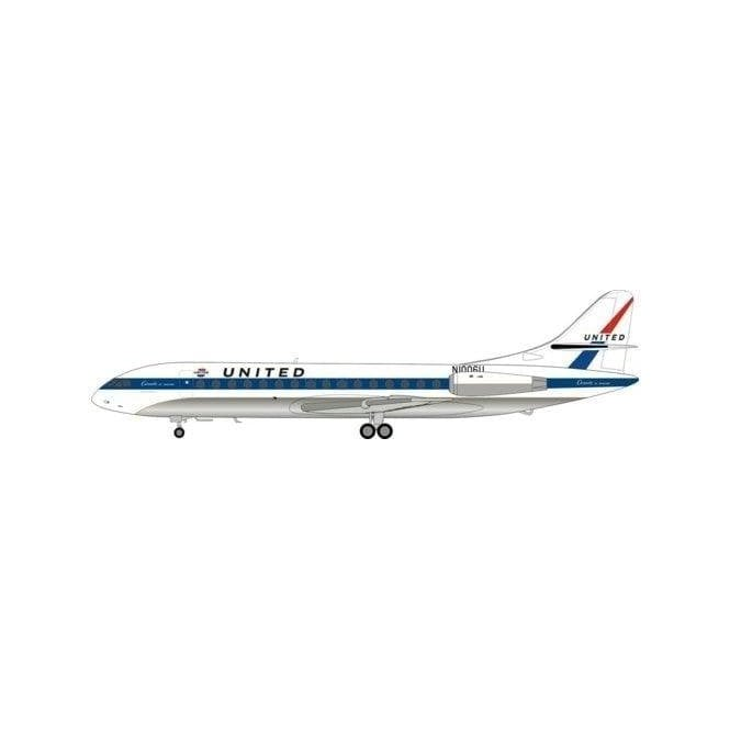 InFlight 200 SUD SE-210 Caraselle VI-R United Reg - N1006U - 1:200 Scale