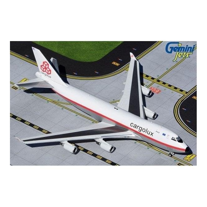 Gemini Jets 1:400 Boeing B747-400ERF Cargolux Retro Livery