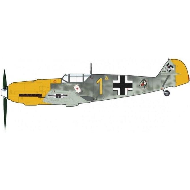 Hobby Master 1:48 BF 109E-3 Yellow 1, Oblt. Josef Priller,  Staffelkaptian 6/JG 51, France, Autumn 1940