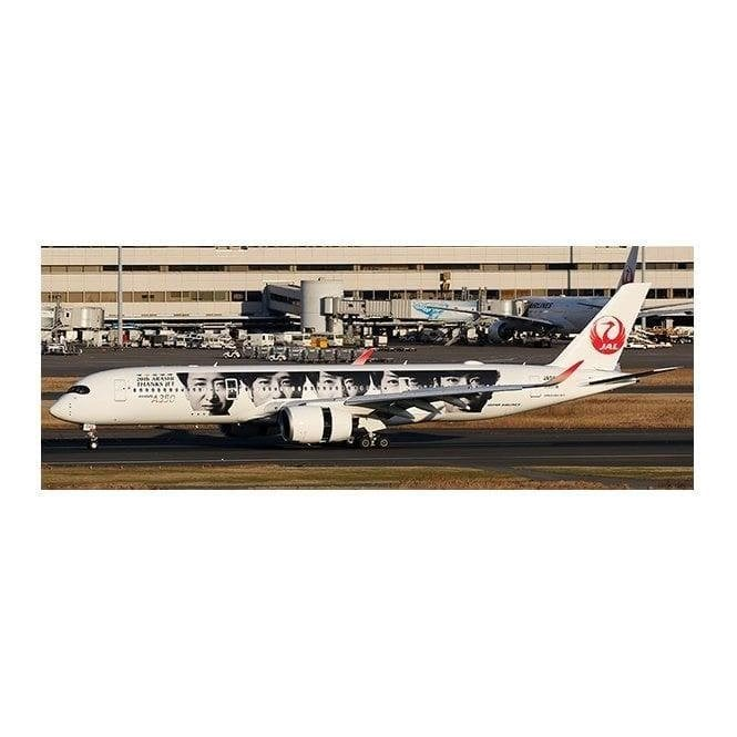 "JC Wings 1:400 Airbus A350-900 JAL Japan Airlines ""Special Livery"" (Flaps Down) Reg - JA04XJ (With Antenna)"