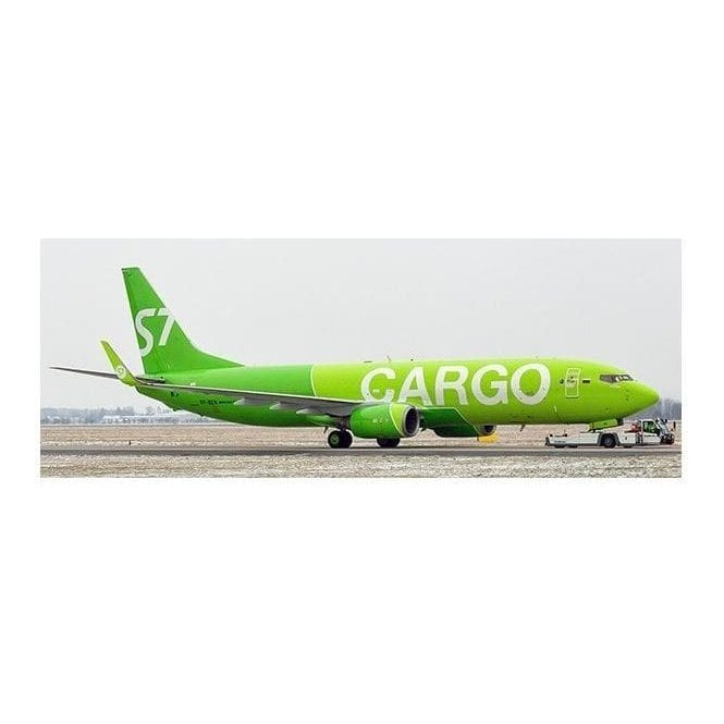 JC Wings 1:200 Boeing 737-800 BCF S7 Cargo - Reg VP-BEN