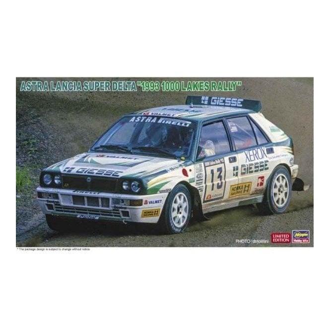 Hasegawa 1:24 Astra Lancia Super Delta 1993 1000 Lakes Rally Car Model Kit