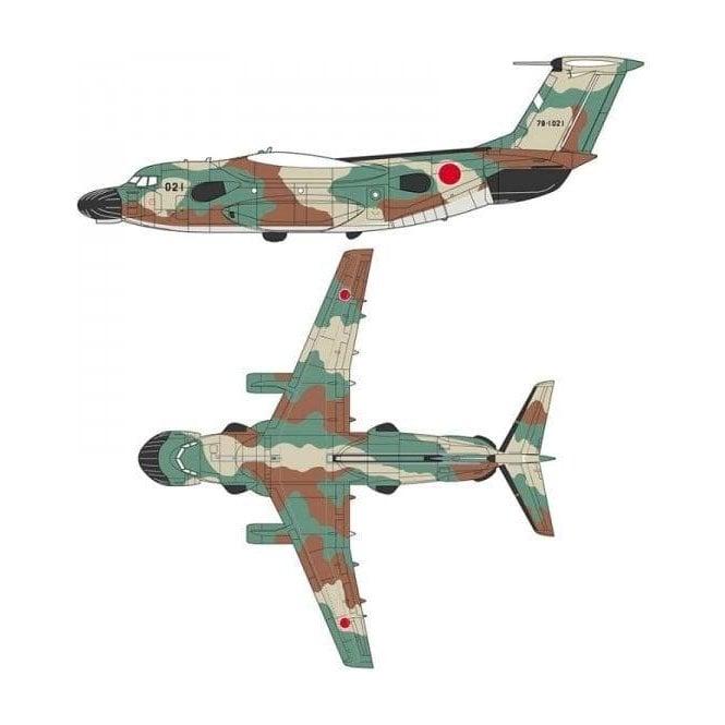 Hasegawa 1:200 Kawasaki EC-1 Electric Warfare Aircraft Model Kit