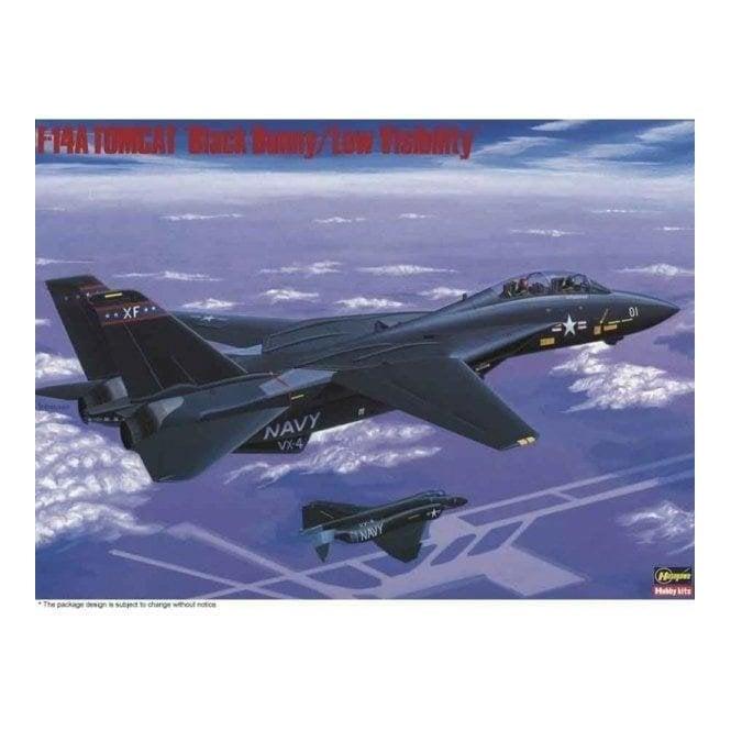 Hasegawa 1:72 F-14A Tomcat Black Bunny Aircraft Model Kit