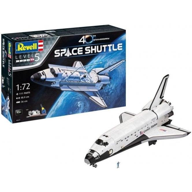 Revell 1:72 Gift Set Space Shuttle 40th Anniversary Model Kit