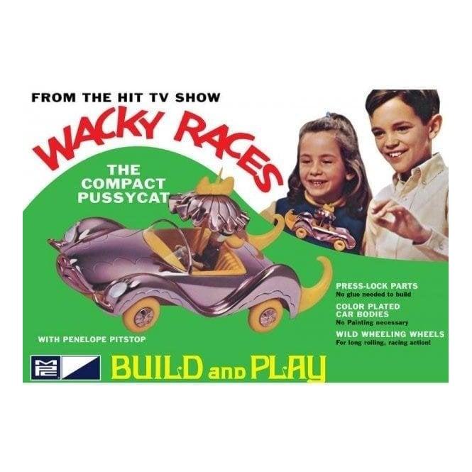 MPC 1:32 Wacky Races - Compact Pussycat  (SNAP) Car Model Kit