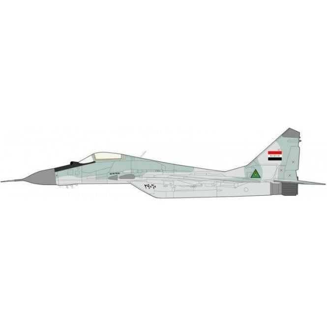 Hobby Master 1:72 MIG-29A Fulcrum  29060, Iraqi Air Force, Habbanyah Air Base, 1990-91