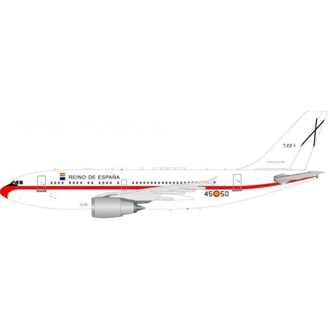 InFlight 200 Airbus A310-300 Spanish Air Force Reg - T22-1 - 1:200 Scale