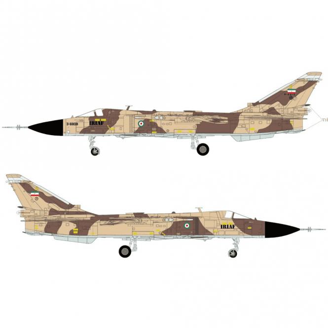 Calibre Wings 1:72 Sukhoi Su-24MK Fencer IRIAF 71ST TFS 3-6835